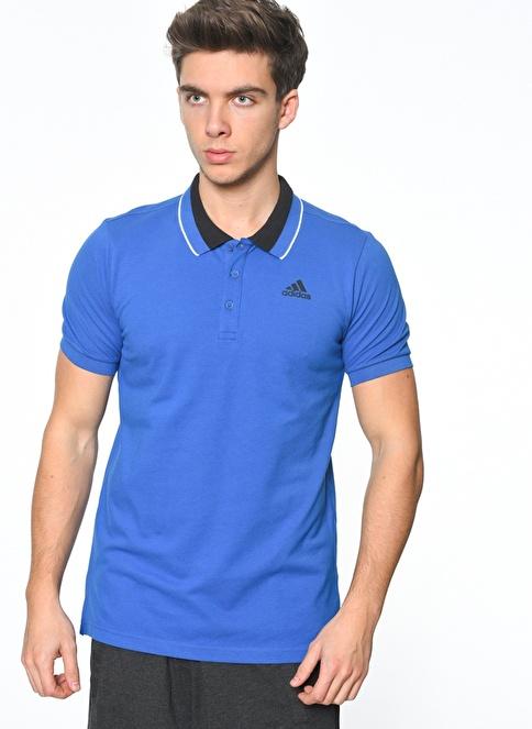 adidas Polo Yaka Tişört Mavi